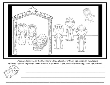Nativity Activity - The Story of Christmas