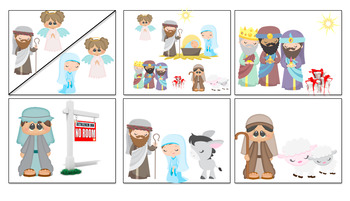 Nativity Cartoon Strip