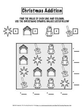 Nativity Christian Christmas Critical and Creative Thinking Pack