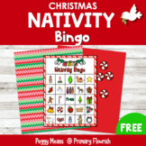 Nativity Christmas Bingo