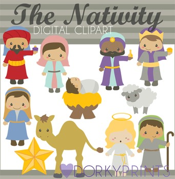 Nativity Christmas Clip Art