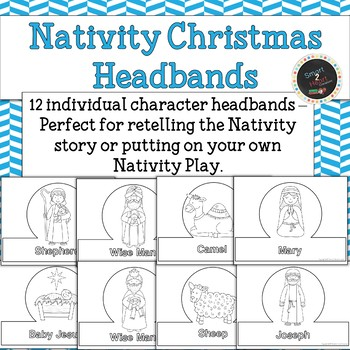 Nativity Christmas Headbands