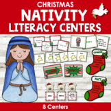 Christmas Nativity Literacy Centers