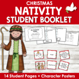 Christmas Nativity Vocabulary and Little Book Riddles