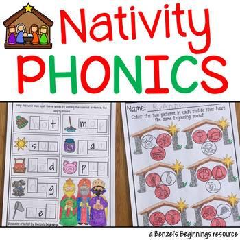 Nativity Christmas Phonics