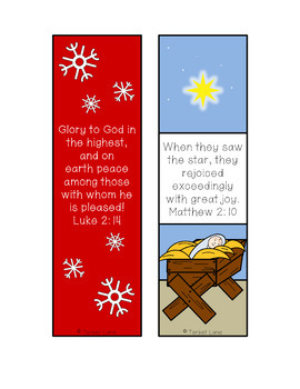 Nativity Christmas Reading Logs and Book Report forms
