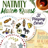 Nativity Christmas Spot It Game