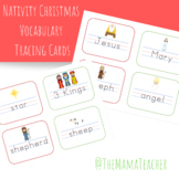 Nativity Christmas Tracing Cards