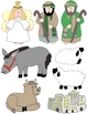 Nativity Clip Art: 48 PNGs to Celebrate the Season