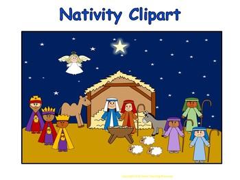 Nativity Clipart