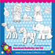 Nativity Clipart Black and White, Christmas, Baby Jesus, three wise men Set 116