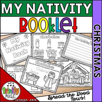 Nativity Coloring Pages for Christmas