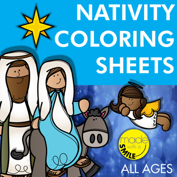 Nativity Coloring Sheets