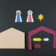 Nativity Craft for Christmas - Baby Jesus Is Born