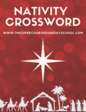 Christmas Activities:  Nativity Crossword