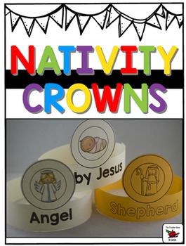 Nativity Crowns Christmas Crowns