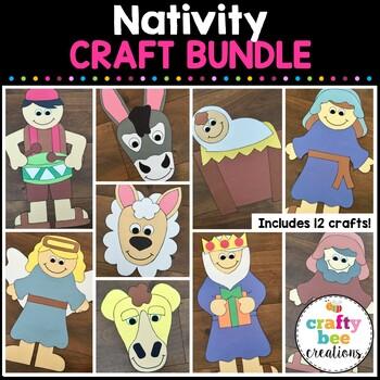 Nativity Crafts Bundle