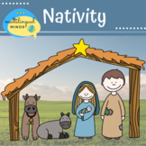 Nativity Digital Clip Art