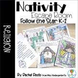 Nativity Escape Room-Kindergarten and First Grade