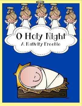 Nativity Freebie