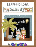Nativity Games and Activities for First, Second and Third grades