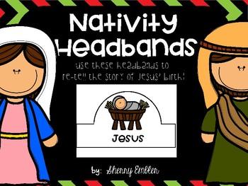 Nativity Headbands