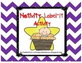 Nativity Label It Activity