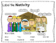 Nativity Labeling Worksheet