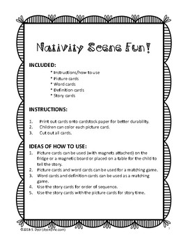 Nativity Learning Packet