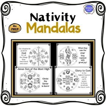 Nativity Mandalas