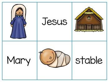 Nativity Matching Activity