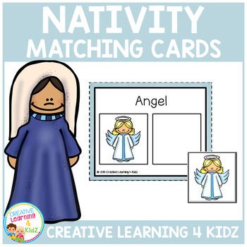 Nativity Matching Cards Christmas
