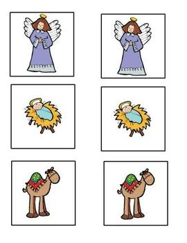Nativity Matching Game