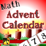 Nativity Math Advent Calendar
