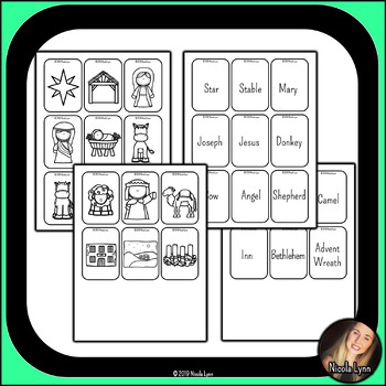 Nativity Memory Game