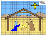 Nativity Mystery Picture