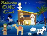 Nativity ONE Card Game for Christmas