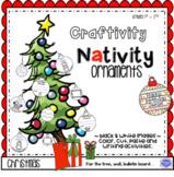 Nativity Ornament Craftivity