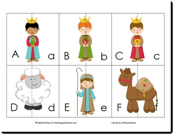 Nativity PreK K Printable Activity Pack
