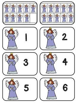 Nativity Preschool Math Pack