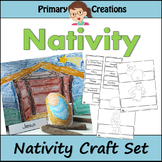 Christmas Nativity Preschool Prek and Kinder Craft Activity