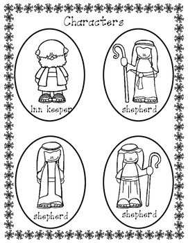 Nativity Reader's Theater Headband Freebie