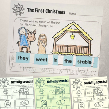 Nativity Read and Write and More Printables