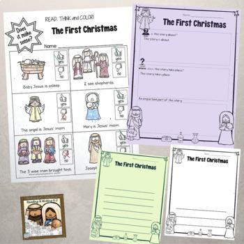 Nativity Literacy Activities