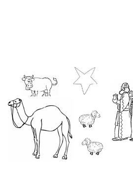 Nativity Scene - Cutouts