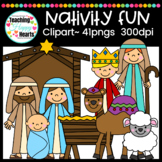 Nativity Set Clipart