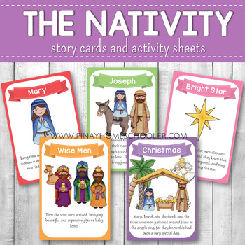 Nativity Story Cards and Activity Sheets