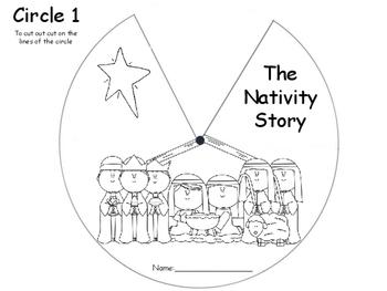 Nativity Story Wheel