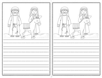 Christmas Nativity Story Writing with Picture Prompts