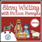 Christmas Nativity Story Writing with Picture Prompts {Hea